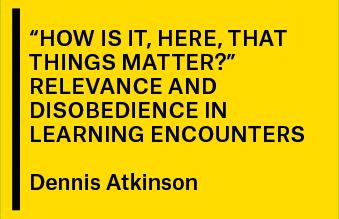 #25 Encontro Aberto com Dennis Atkinson