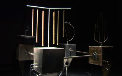 Improvising with Metallic  Sound Sculptures and other Volatile Sonic Assemblages // Paul Stapleton